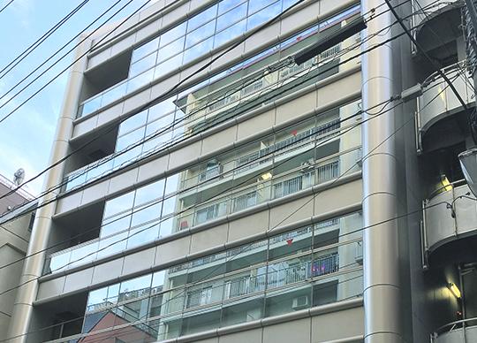 オフィス(JR山手線「巣鴨」駅から徒歩3分)の外観です。